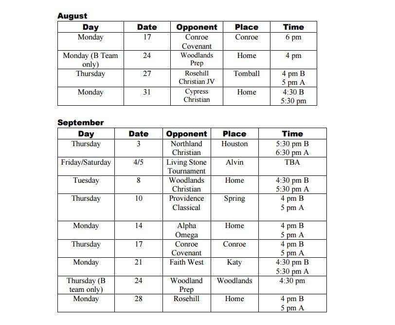 jr-high-school-schedule-a